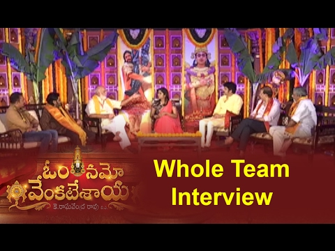 Om Namo Venkatesaya Whole Team Interview