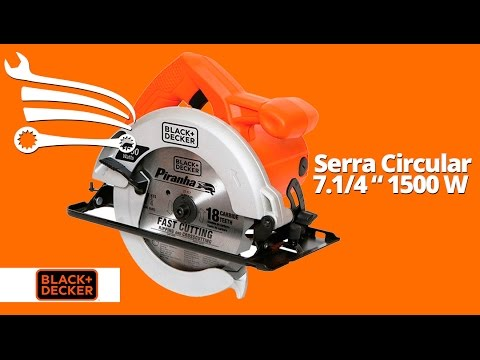 Serra Circular 7.1/4 Pol. 1500W  - Video