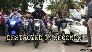 Hayabusa DESTROYED in SECONDS - INDIA