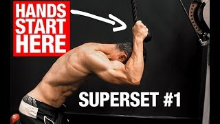 The BEST Triceps Supersets (SLEEVE BUSTERS!)