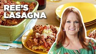 Ree's Hearty Cowboy Friendly Lasagna   Food Network
