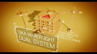 Sika® Waterproofing Dual System'