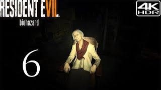 Resident Evil 7 Biohazard  Walkthrough Gameplay 6  Getting The Keycards 4K 60FPS HDR Madhouse