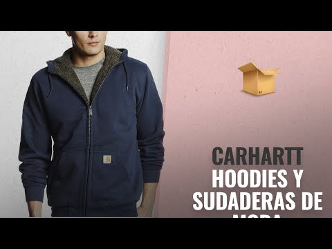 10 Mejores Ventas De Carhartt  Carhartt Men s Collinston Brushed Fleece  Sherpa Lined Sweatshirt 2112a236a74