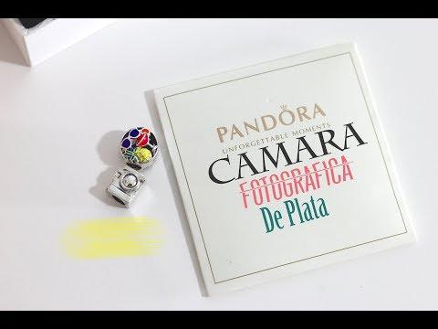 HAUL CAMARA FOTOGRAFICA DE PLATA PANDORA, COMPRA JOYERIA FINA PARA PULSERAS Y DIY COLLARES