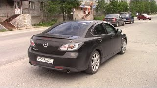Mazda 6. Такой Zoom-Zoom можно купить за 500 тысяч.