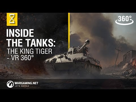 El interior de los carros: el King Tiger, en realidad virtual