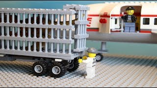 Lego Plane Robbery The Airport 2