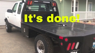 1997 F-250 Flatbed Install Completed
