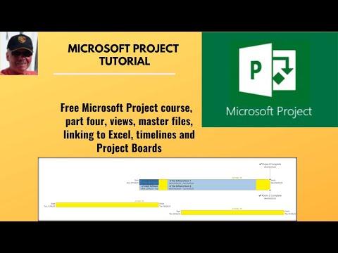 Microsoft Project tutorial.  Free Microsoft Project tutorial