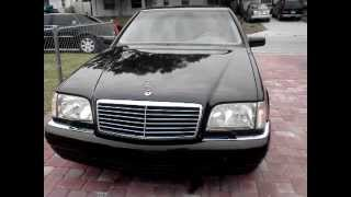1999 Mercedes benz s Class s320v w140 one owner florida car