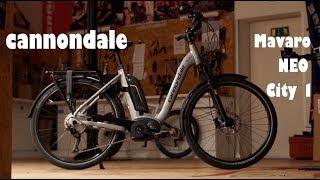 Das neue Cannondale Mavaro NEO 1