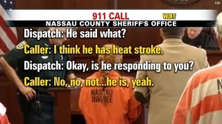 911 call: Twin baby boy left in hot car