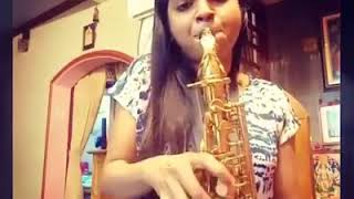 This Girl is Amazing with Saxophone | Energy Level is Awesome - Anjali Shanbhogue