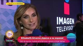 ¿Elizabeth Álvarez Celosa Por Escenas De Besos De Jorge Salinas?   Sale El Sol