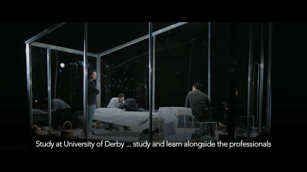 YouTube video of a show-reel of recent events at Derby Theatre