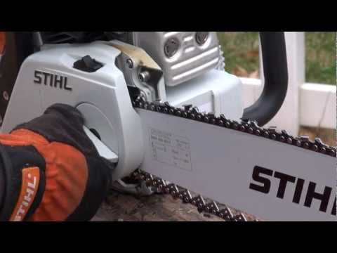 Stihl MS 251 C-BE in Kerrville, Texas - Video 1
