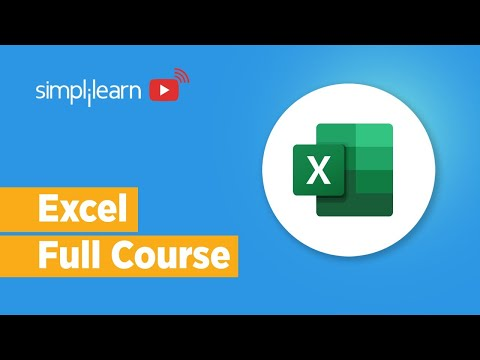 Excel Full Course | Microsoft Excel Course | Microsoft ... - YouTube