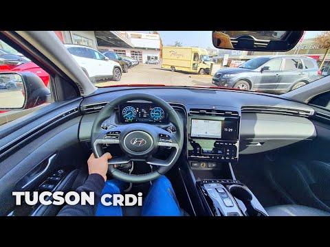 2021 Hyundai Tucson Diesel CRDi Test Drive Review POV
