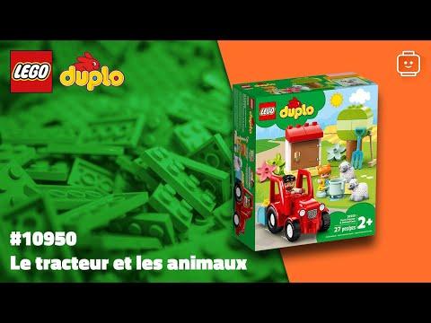 Vidéo LEGO Duplo 10950 : Le tracteur et les animaux