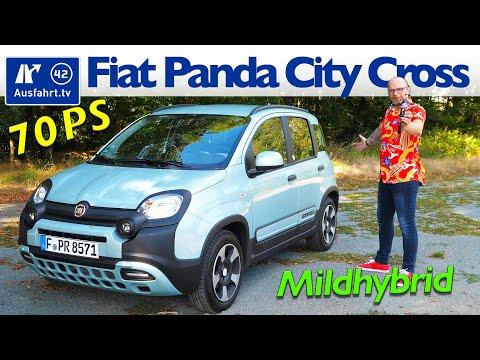 2020 Fiat Panda City Cross Hybrid - Kaufberatung, Test deutsch, Review, Fahrbericht Ausfahrt.tv