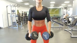 MICHELLE LEWIN Workout - Full Body High Intense Routine 3