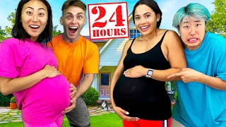 24 HOUR PREGNANCY CHALLENGE!!