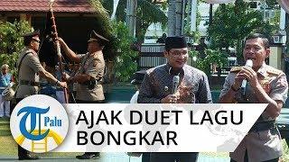 Pengukuhan Polda Sulteng Kapolri Idham Aziz Ajak Pasha Ungu Berduet