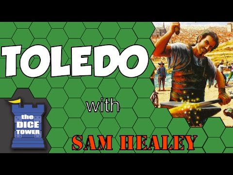 Toledo - A Dice Tower Review with Sam Healey
