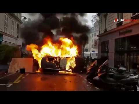 Adivinha-se novo fim-de-semana violento em Paris