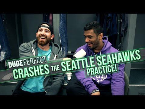 DUDE PERFECT | Seattle Seahawks Edition BONUS Video