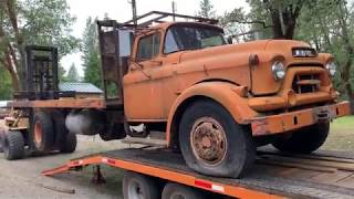 GMC Truck 471 Detroit diesel coming back to life after 25 yrs.  1st start