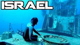 Wreck Diving | Eilat, Israel | Freediver HD | Satil