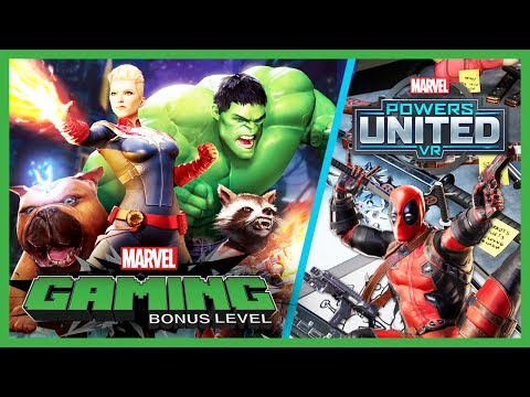 MARVEL Powers United VR SDCC Exclusive Demo | MTW