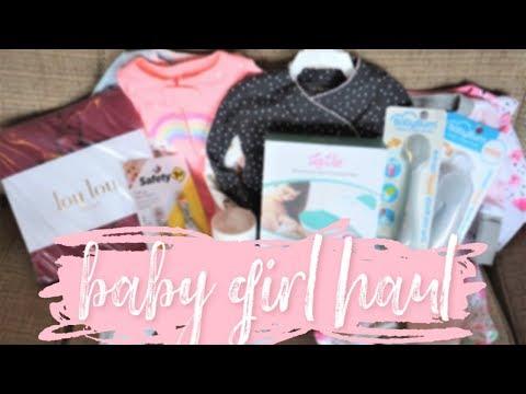 First Baby Buy Haul!! // Momma Alia