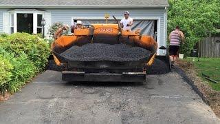 A-Pak Paving Resurfaces Our Asphalt Driveway