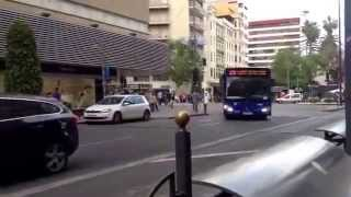 preview picture of video 'Autobuses por Alicante'