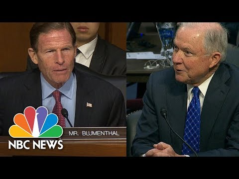 Attorney General Jeff Sessions Act Coy With Senate On Special Counsel Questions | NBC News