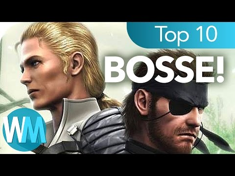 Top 10 der HEFTIGSTEN Metal Gear Solid Bosse!