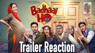 Badhaai Ho Trailer Reaction   Ayushmann Khurrana   Sanya Malhotra   Amit Sharma