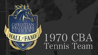 CBA HOF 2018: 1970 Tennis Team