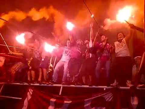 """Infierno Granate • Granadictos 24 • Carabobo FC Vs Dep. Tachira TC2015 (1-1)"" Barra: Granadictos • Club: Carabobo"