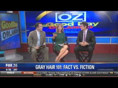 Video Gray Hair Fact vs. Fiction with Dr. Oz