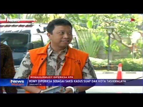 Romahurmuziy Diperiksa KPK Terkait Kasus Suap DAK Kota Tasikmalaya - iNews Malam 21/06