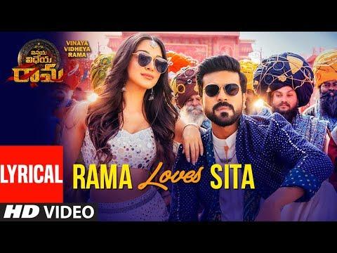 Download Rama Loves Seeta Song With Lyrics | Vinaya Vidheya Rama | Ram Charan, Kiara Advani, Vivek Oberoi HD Mp4 3GP Video and MP3