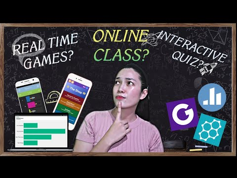 Make Easy Interactive Quiz and Games for Online Class || REAL TIME VIEWING