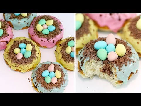 (EASY!!) Mini Egg Doughnuts Recipe | Easter Doughnuts Recipe