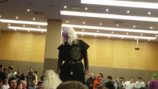 Выставка OGIC 4. Косплей.Cosplay Game Of Thrones. Daenerys Targaryen and Viserys Targaryen