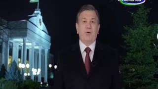 Новогоднее поздравление Президента Республики Узбекистан Шавката Мирзиеева