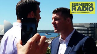 """Michael Bisping & Luke Rockhold HEATED argument on Balcony """"Who the F**K have you knocked out?!"""""""